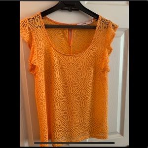 JustFab lace top